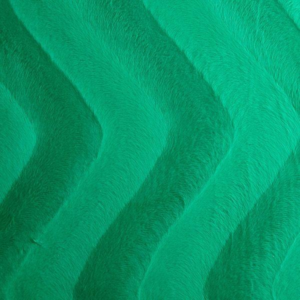 Kunstfell in Grün