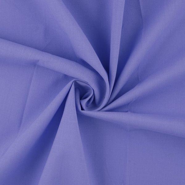 Batist für Kinder in Blau einfarbig