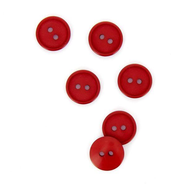 Roter Kinderknopf