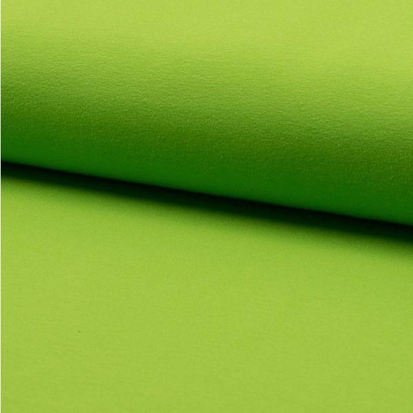 Grasgrüne Uni-Baumwolle