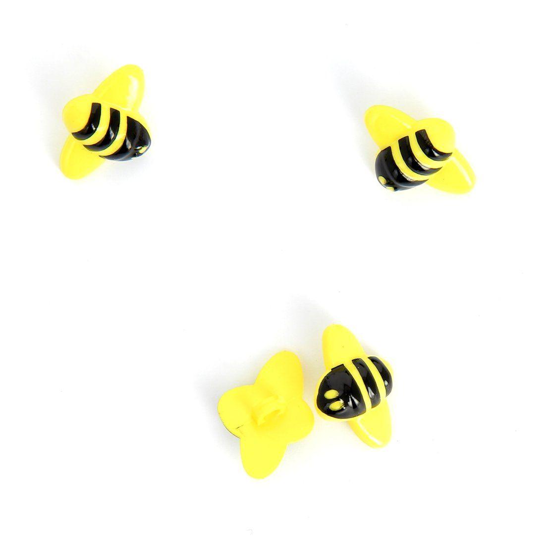 Bienen-Knopf für Kinder