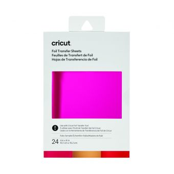 Cricut 24 Transfertfolien Foil lot ruby 10,1 x 15,2 cm