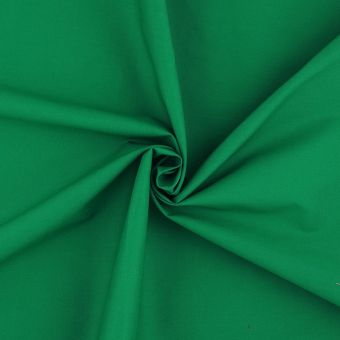 Popeline Baumwolle Smaragdgrün