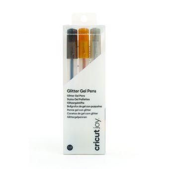 Cricut Joy 3 Gelstifte Schwarz Gold Silbern 0,8 mm