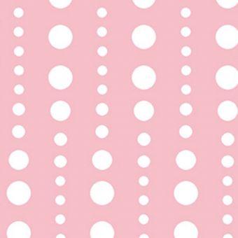 Baumwollstoff Punkte Rosa