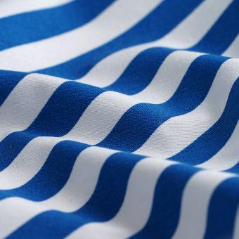Ottomann-Stoff diagonale Streifen Blau