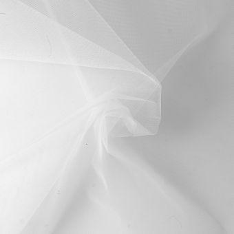 Feines weißes Moskitonetz extra breit