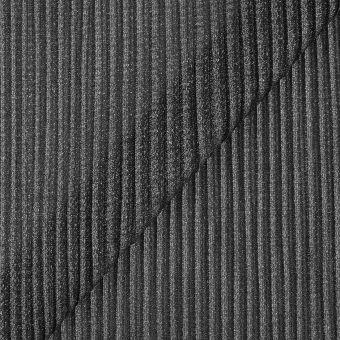 Strickstoff Grau glitzernd