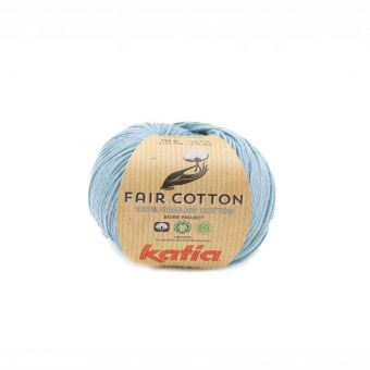 Wolle Bio Katia Fair Cotton Blaugrau
