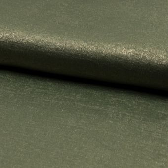 Voile-Stoff Glänzend Kaki