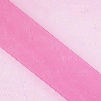 Schleierstoff extra breit Pink