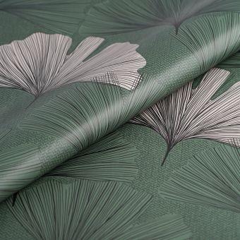 Wachstuch Blätter Grün