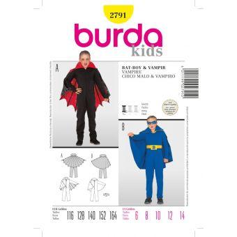 Schnittmuster Vampire & Bat Boy - Burda n°2791