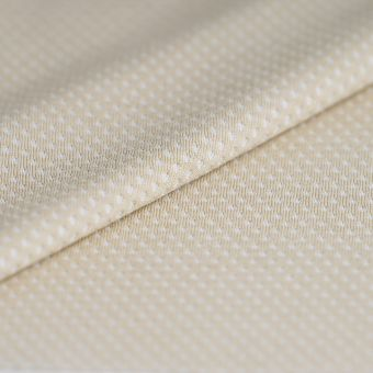 Atmungsaktiver Jerseystoff Sport polyester Beige