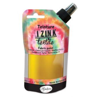 Textilfarbe Spray izink goldfarben 80 ml