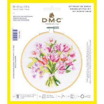 Kreuzstich DMC Frühlingsstrauss