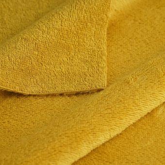 Frotteestoff Bambus Gelb