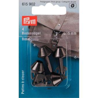 Bodennägel für Taschen 15mm, altsilber