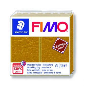 Fimo-Leder-Effekt-Paste 57g ockerfarben