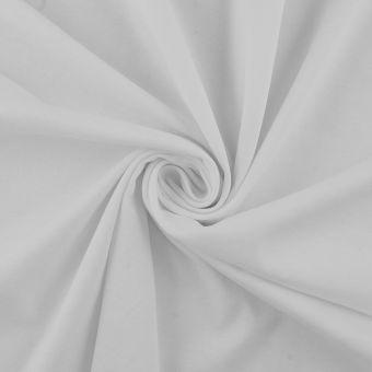 Interlock Baumwolle Supima Weiß