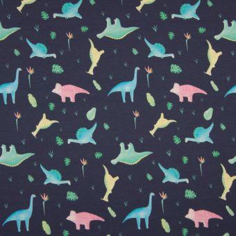 Jerseystoff Baumwolle Dinosaurier