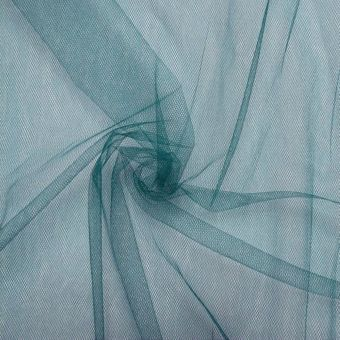 Weicher Tüllstoff  300cm entenblau