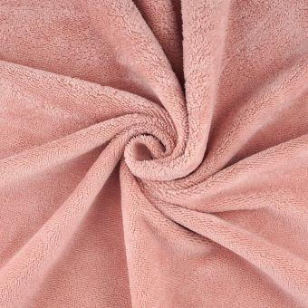 Froteestoff Bambu rosa
