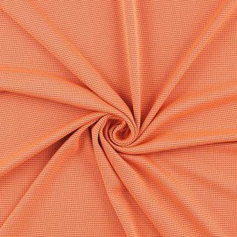 Anti-UV Funktionsstoff Polyester/Bambus Orange