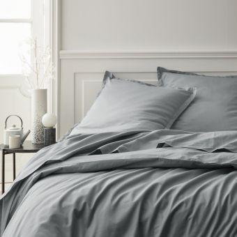Bettbezug grau
