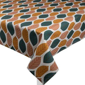 Rechteckige Tischdecke Makers Blätter