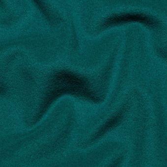 Wollstoff Mantel 100% Italien entenblau