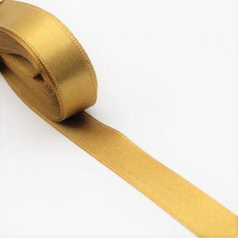 Satinband goldfarben - 15 mm