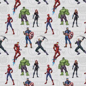 Baumwollstoff Marvel Avengers