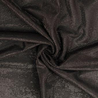 Glänzender Stoff schwarz