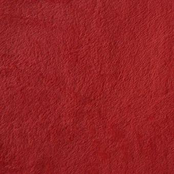 Fleecestoff einfarbig rot