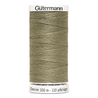 Nähgarn Denim Gütermann 100 m grün