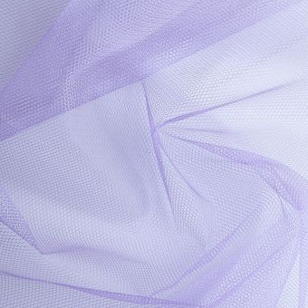 Tüllstoff, einfarbig lila