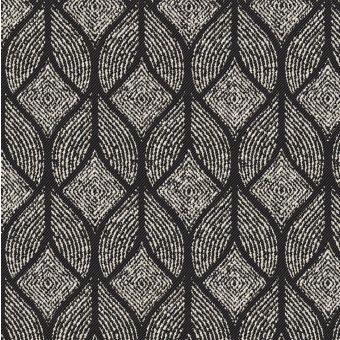 Jacquard Baumwolle Polyester Noumea anthrazit
