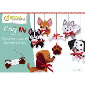 Kreativbox mini couz'in deco Hunde