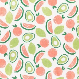 Stoffabschnitt Frucht