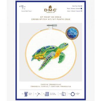 Kreuzstich-Stick Set DMC Meeresschildkröte