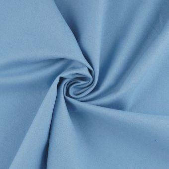 Flanellstoff Bio Baumwolle Blau