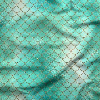 Jersey Anti-UV Sirene Seegrün