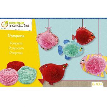Kreativ-Box Pompons