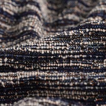 Jacquard Polyester Tweed bunt