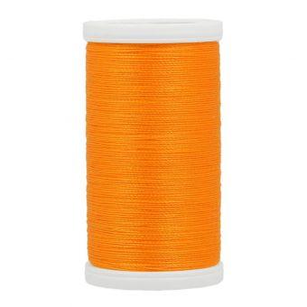 Baumwollgarnspule Mondial Tissus, gelb-orange, 100 Meter