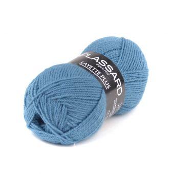 Strickgarn Plassard Layette Plus Mittelblau