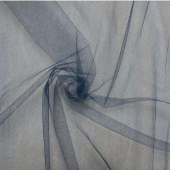 Weicher Tüllstoff  300cm dunkelblau