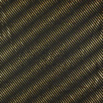 Jerseystoff Streifen goldfarben