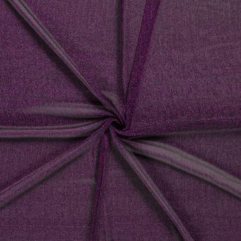 Jerseystoff Metallic Violett